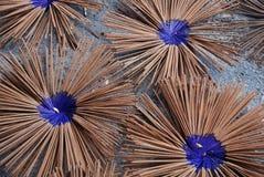 Incenso blu Fotografie Stock Libere da Diritti
