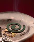 Incenso della cosa repellente di insetto Fotografie Stock Libere da Diritti