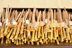 Incenso e candele Fotografia Stock