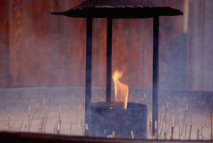 Incenso puro em Japão Foto de Stock Royalty Free