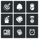 Incentives life icons. Vector Illustration. Royalty Free Stock Image