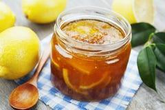 Inceppamento del limone Fotografia Stock Libera da Diritti