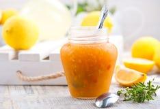 Inceppamento del limone Fotografia Stock