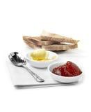 Inceppamento e pane tostato fotografie stock libere da diritti