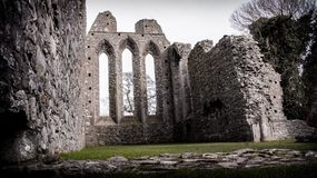 Inch Abbey, Downpatrick, Northern Ireland Royalty Free Stock Photography