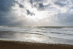 Inch beach in Ireland Royalty Free Stock Image