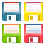 3.5 Inch Floppy Disks Royalty Free Stock Photo