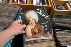 12-inch single: Divine, Shake It Up Stock Photography