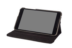 8 inch tablet on a stand Royalty Free Stock Photography