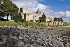 Inchcolm Abbey Stock Images