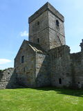Inchcolm abbotskloster Arkivfoton