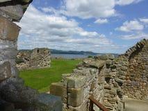 Inchcolm abbotskloster Royaltyfria Foton