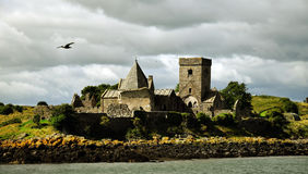 Inchcolm abbotskloster Royaltyfri Foto