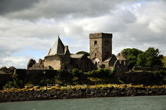 Inchcolm abbotskloster Royaltyfria Bilder