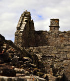 Inchcolm abbotskloster Arkivbilder
