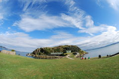 Inchcolm Views Royalty Free Stock Photos