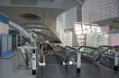 Incheon airport interiors royalty free stock photo