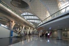 Incheon airport interiors stock image