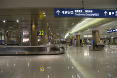 Incheon airport luggage claim Royalty Free Stock Photography