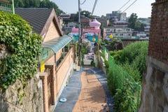 Incheon bajki wioska Zdjęcie Stock