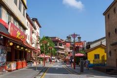 Incheon Chinatown restauracje Zdjęcie Royalty Free