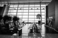 Incheon-Flughafen Stockfoto