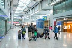Incheon flygplats Arkivfoton
