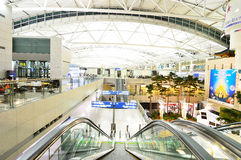 The Incheon International Airport Royalty Free Stock Photo