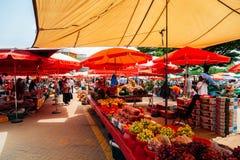 Ganghwa Pungmul market, Korean traditional market in Incheon, Korea