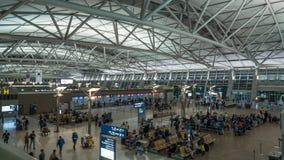 Incheon lotnisko międzynarodowe w Seul, Południowy Korea Fotografia Stock