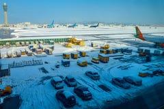 Incheon lotnisko międzynarodowe Zdjęcia Stock