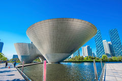INCHEON, SOUTH KOREA - MAY 20 : Songdo Central Park. INCHEON, SOUTH KOREA - MAY 20 : Songdo Central Park is the green space plan,inspired by NYC. Photo taken Royalty Free Stock Photos