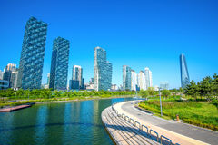 INCHEON, SOUTH KOREA - MAY 20 : Songdo Central Park. Stock Images