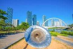 INCHEON, SOUTH KOREA - MAY 20 : Songdo Central Park. Stock Photo