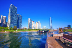 INCHEON, SOUTH KOREA - MAY 20 : Songdo Central Park. Stock Photography