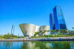 INCHEON, SOUTH KOREA - MAY 20 : Songdo Central Park. INCHEON, SOUTH KOREA - MAY 20 : Songdo Central Park is the green space plan,inspired by NYC. Photo taken Royalty Free Stock Image