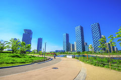 INCHEON, SOUTH KOREA - MAY 20 : Songdo Central Park. Royalty Free Stock Photos
