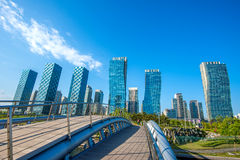 INCHEON, SOUTH KOREA - MAY 20 : Songdo Central Park Royalty Free Stock Photo