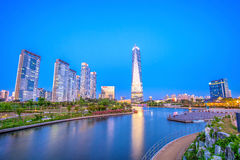 INCHEON, SOUTH KOREA - MAY 20 : Songdo Central Park. INCHEON, SOUTH KOREA - MAY 20 : Songdo Central Park is the green space plan,inspired by NYC. Photo taken Stock Photos