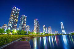 INCHEON, SOUTH KOREA - MAY 20 : Songdo Central Park. Royalty Free Stock Images