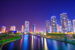 INCHEON, SOUTH KOREA - MAY 20 : Songdo Central Park. INCHEON, SOUTH KOREA - MAY 20 : Songdo Central Park is the green space plan,inspired by NYC. Photo taken Royalty Free Stock Images