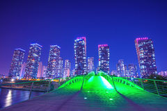 INCHEON, SOUTH KOREA - MAY 20 : Songdo Central Park. Royalty Free Stock Photo