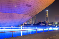 INCHEON, SOUTH KOREA - SEPTEMBER 19 : Songdo Central Park. Royalty Free Stock Photos