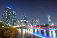 INCHEON, SOUTH KOREA - SEPTEMBER 19 : Songdo Central Park. Stock Images