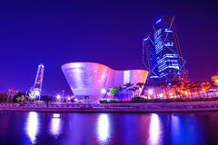 INCHEON, ZUID-KOREA - MEI 20: Songdocentral park royalty-vrije stock afbeeldingen