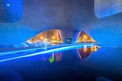 INCHEON, ZUID-KOREA - SEPTEMBER 19: Songdocentral park Stock Afbeelding