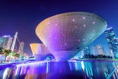 INCHEON, ZUID-KOREA - SEPTEMBER 19: Songdocentral park Stock Foto
