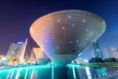INCHEON, ZUID-KOREA - SEPTEMBER 19: Songdocentral park Stock Foto's
