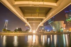 INCHEON, ZUID-KOREA - SEPTEMBER 19: Songdocentral park Royalty-vrije Stock Foto's