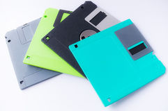 3.5 inches floppy discs Royalty Free Stock Image